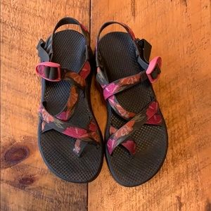 Floral Chaco sandals